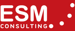 Logotipo ESM Consulting blanco